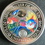パラオカラーコイン 西暦1995年