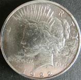 ピース1$銀貨  西暦1922年