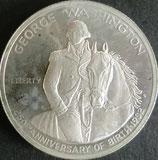 ジョージ・ワシントン1/2$銀貨