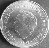 オランダ銀貨  西暦1970年