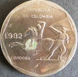 コロンビア 西暦1982年