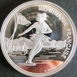 フランスオリンピック記念貨プルーフ銀貨