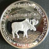 カナダプルーフ銀貨 西暦1985年