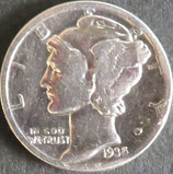 マーキュリー銀貨 西暦1935年