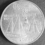 カナダオリンピック銀貨