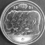 ベルギー銀貨 西暦1951年