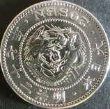 竜20銭銀貨 明治27年