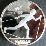 カナダプルーフ銀貨 西暦1986年