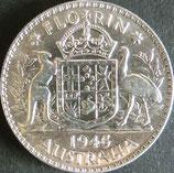 オーストラリア銀貨 西暦1945年