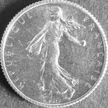 フランス銀貨 西暦1919年