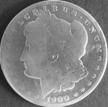 モルガン・ダラー銀貨 西暦1900年