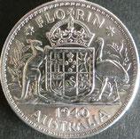 オーストラリア銀貨 西暦1940年