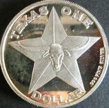 テキサスドル銀貨 西暦2005年
