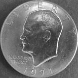 アイゼンハワー1ドル 西暦1971年