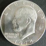 アイゼンハワー銀貨 西暦1974年