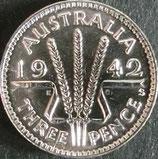 オーストラリア銀貨 西暦1942年
