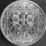 ポルトガル銀貨 西暦1966年