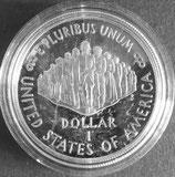 憲法制定200年記念銀貨プルーフ