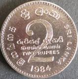 スリランカ 西暦1984年