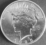 ピース1ドル銀貨 西暦1925年