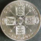 イギリス銀貨 西暦1921年