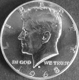 ケネディドル銀貨 西暦1968年