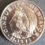 メキシコ記念銀貨 西暦1975年