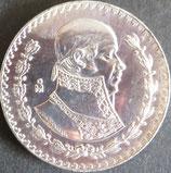 メキシコ記念銀貨 西暦1965年