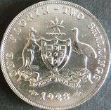 オーストラリア銀貨 西暦1928年
