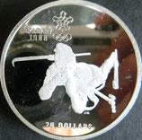 カナダプルーフ銀貨 西暦1988年