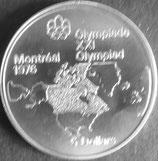 カナダオリンピック大会記念銀貨 西暦1973年