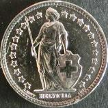 スイス銀貨 西暦1962年