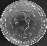 デンマーク銀貨 西暦1955年
