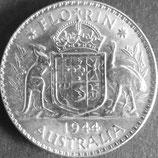 オーストラリア銀貨 西暦1944年 Φ29