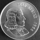 南アフリカ共和国銀貨 西暦1966年