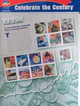 アメリカ記念切手 西暦1990年