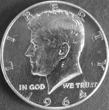 ケネディドル銀貨 西暦1964年