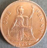 イギリス 西暦1939年