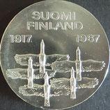 フィンランド銀貨 西暦1967年