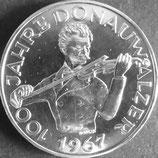オーストリア銀貨 西暦1967年
