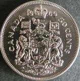 カナダ銀貨 西暦1969年