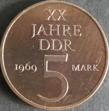 ドイツ 記念貨 西暦1969年