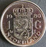 オランダ銀貨 西暦1980年