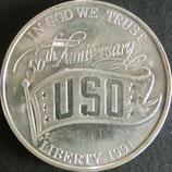 アメリカ(米国慰問協会)記念銀貨