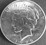 ピース1ドル銀貨  西暦1926年