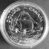 カナダプルーフ銀貨  西暦1979年