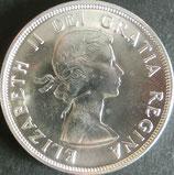 カナダ銀貨 西暦1959年