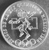 メキシコ記念銀貨 西暦1968年