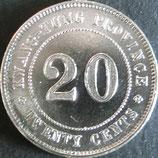 貳壱銀幣 中華民国9年