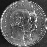 アレクサンドリ(デンマーク)銀貨 西暦1892年